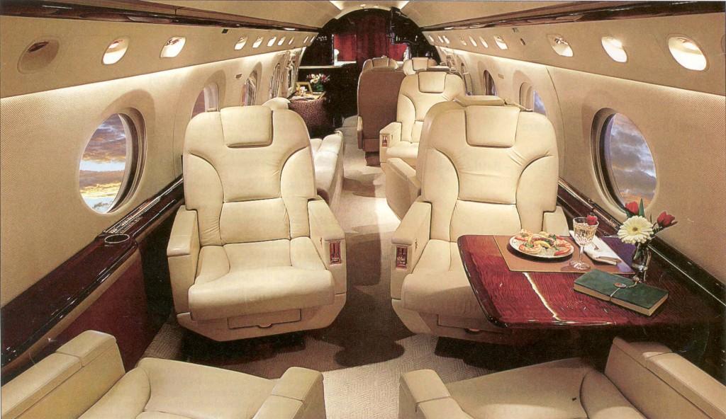 Gulfstream V Carter Jet Interior